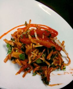 Indo-Chinese fusion cooking