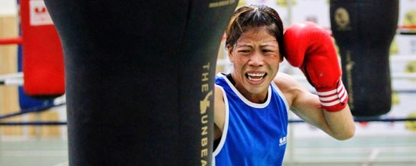 Mary Kom homepage