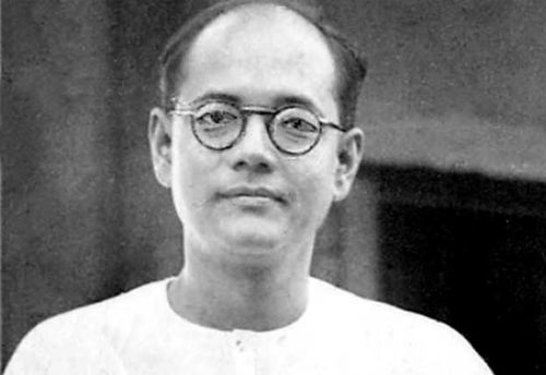 Subhash Chandra Bose during his student days