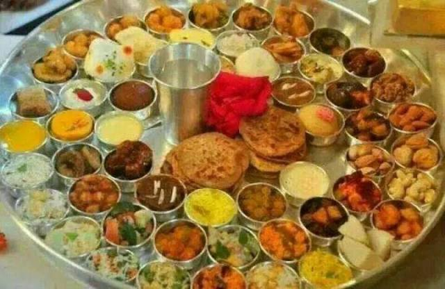 Chhappan bhog for the Lord
