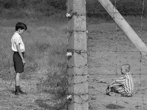 Still from the film The Boy in Striped pyjamas