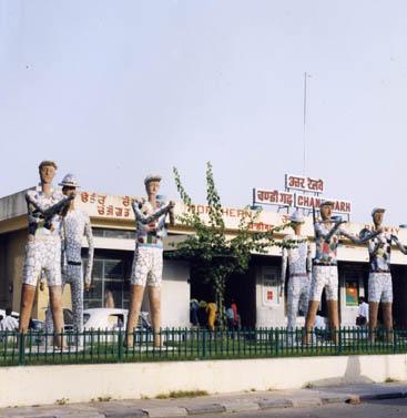 Chandigarh Railways Station in those days