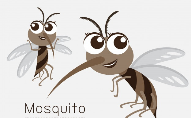 Mosquito Mom and kid