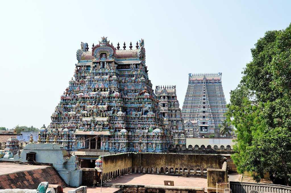 Tiruvanaikkaval Jambukeswarar Temple, Tiruchirapall